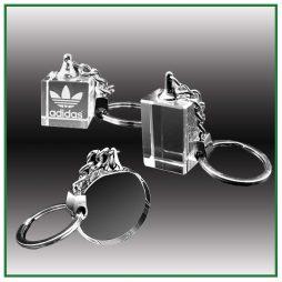 Porte clés en verre