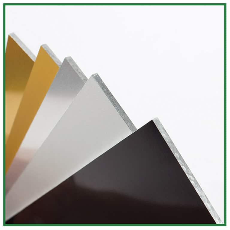Plaque signalétique aluminium