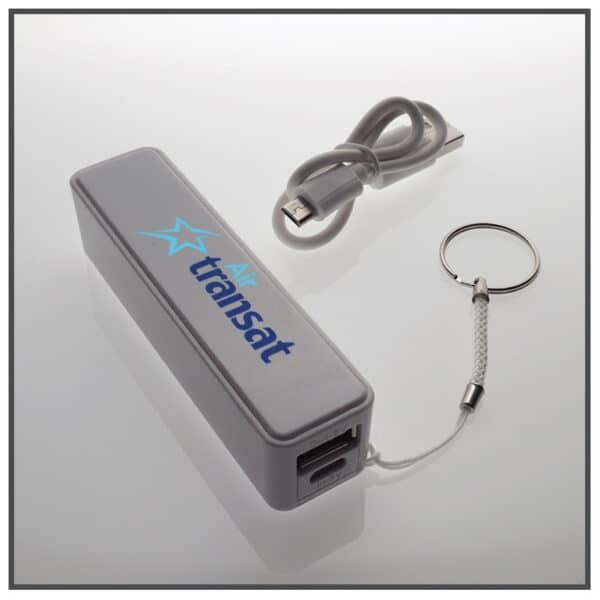 batterie de secours personnalisée
