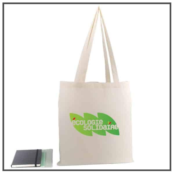 sac coton publicitaire anses longues