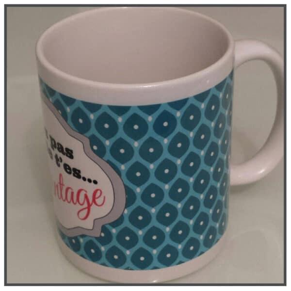 mug avec marquage logo