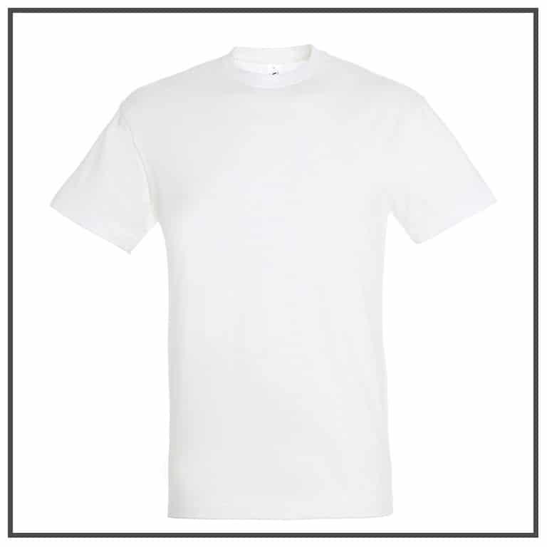 e96a079ce9f Tee-shirt publicitaire blanc à personnaliser