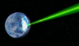 image laser destruction planete terre